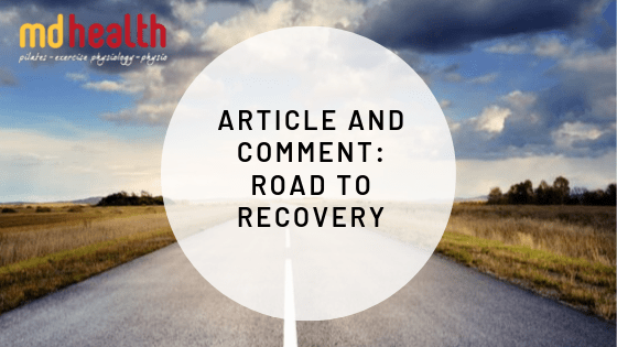 Article and Comment – Road to Recovery